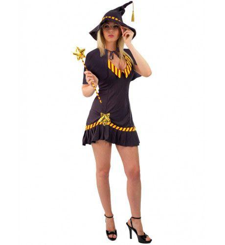 Sexy Tovenaarsschool Meisjes Halloween Vrouw Kostuum