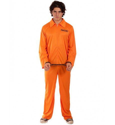 Gevangene Kostuum Man