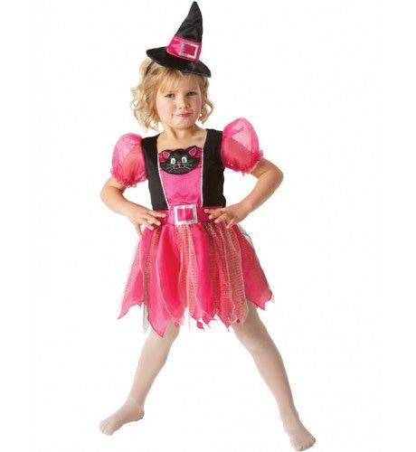 Kitty Heks Halloween Meisje Kostuum