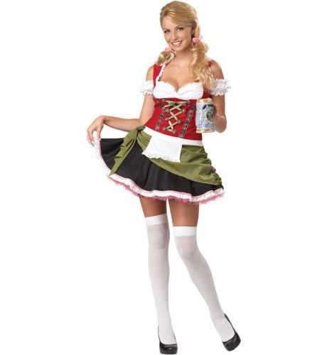 Beiers Barmeisje Vrouw Kostuum