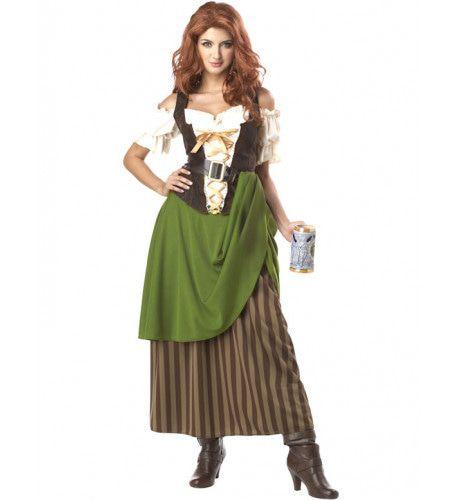 Herberg Meid Vrouw Kostuum
