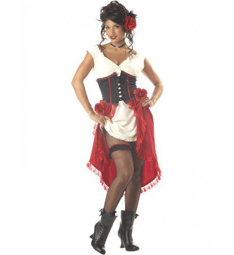 Spaans Cantina Gal Vrouw Kostuum