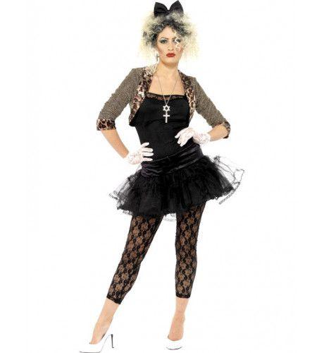 Jaren 80 Wild Vrouw Kostuum