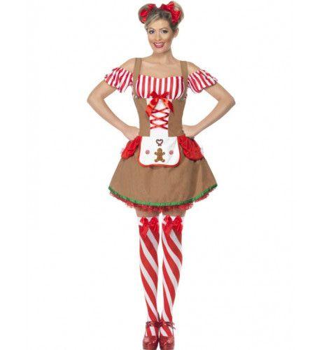 Gingerbread Woman Vrouw Kostuum