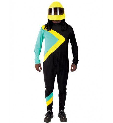 Jamaicaanse Bobslee Kostuum Man