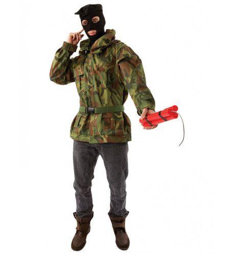Revolutionaire Guerrilla Man Kostuum