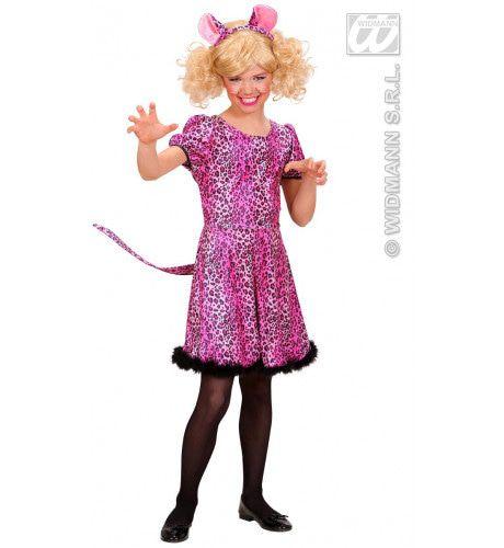 Luipaard Roze Pink Leopard Meisje Kostuum