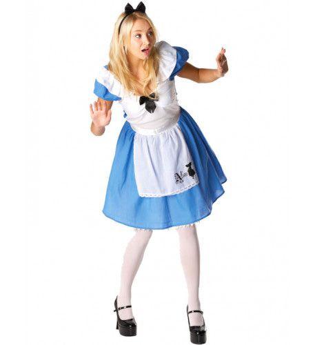 Alice In Wonderland Kostuum (Disney) Vrouw