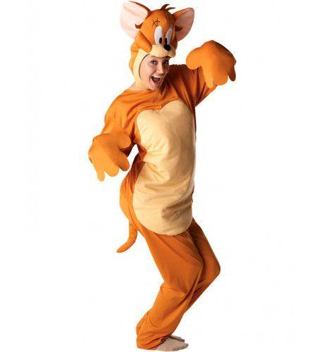 Jerry (Tom & Jerry) Vrouw Kostuum