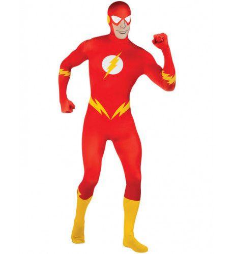 Second Skin The Flash Man Kostuum