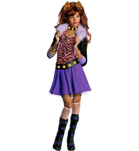 Kind Monster High Clawdeen Kostuum Meisje
