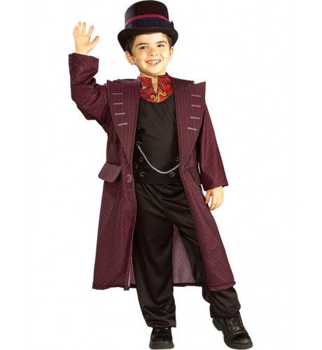 Kind Willy Wonka Kostuum Jongen
