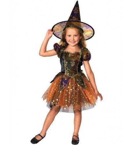 Kind Halloween Heks Kostuum Meisje