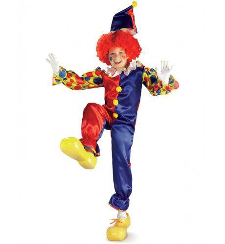 Kind Bubbles De Clown Kostuum