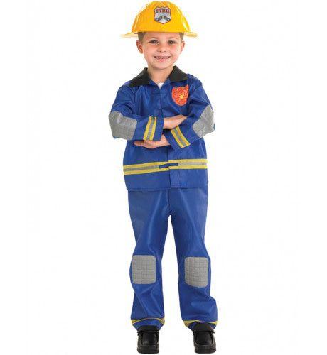 Kind Brandweerman Jongen Kostuum