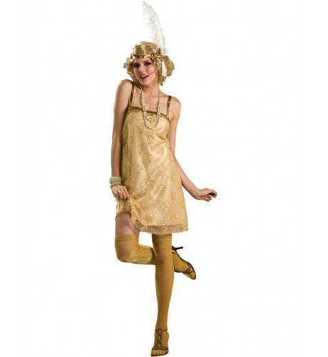 Flapper Meisje Vrouw Kostuum