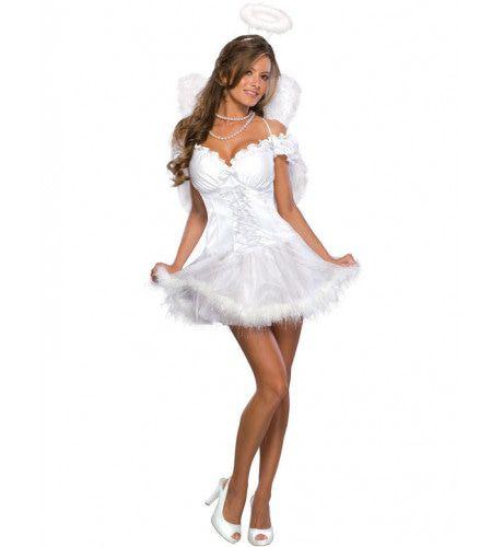 Sexy Engel Vrouw Kostuum