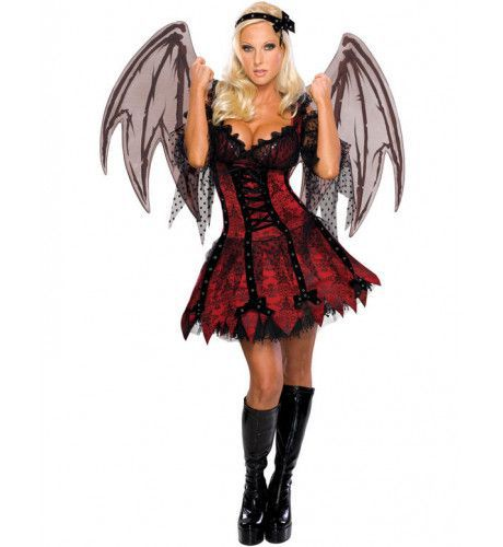 Vampier Fee Vrouw Kostuum