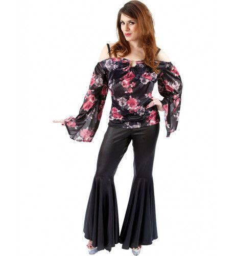 70s Groovy Dame Vrouw Kostuum