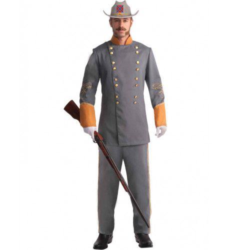Amerikaanse Burgeroorlog Soldaat Union Man Kostuum