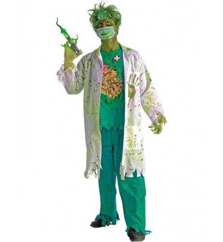 Griezelige Chirurg Man Kostuum
