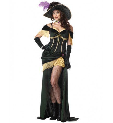 Saloon Madame Vrouw Kostuum