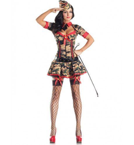 Leger Kostuum (Body Shaper) Vrouw