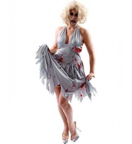 Zombie Diva Vrouw Kostuum