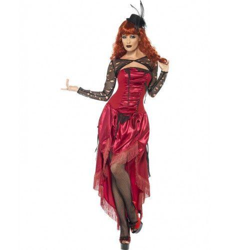 Burlesque Halloween Vrouw Kostuum