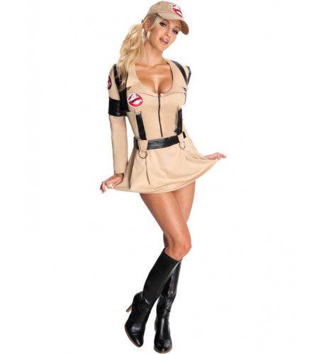 Vrouwelijk Sexy Ghostbusters Vrouw Kostuum