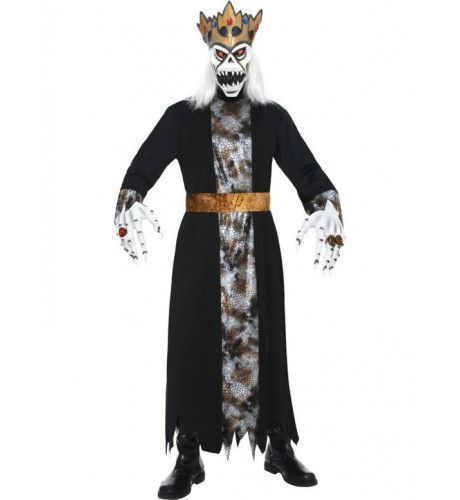 Halloween Koning Man Kostuum