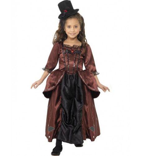 Kinder Vampierkostuum Meisje Kostuum