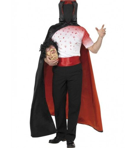 Man Zonder Hoofd Halloween Man Kostuum