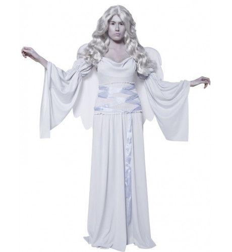 Witte Engel Vrouw Kostuum