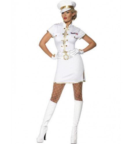 Vrouwen Officier Vrouw Kostuum