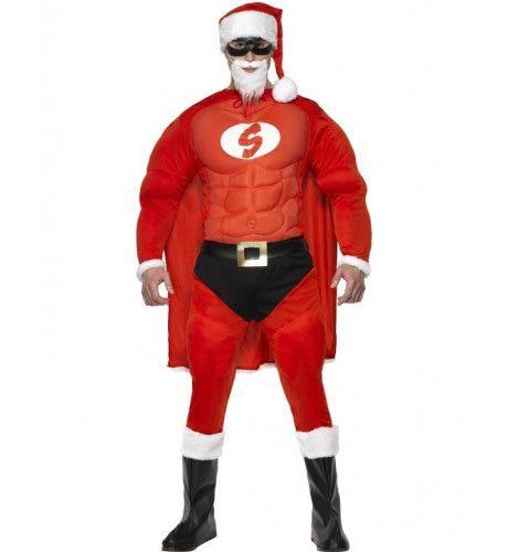Super Santa Man Kostuum