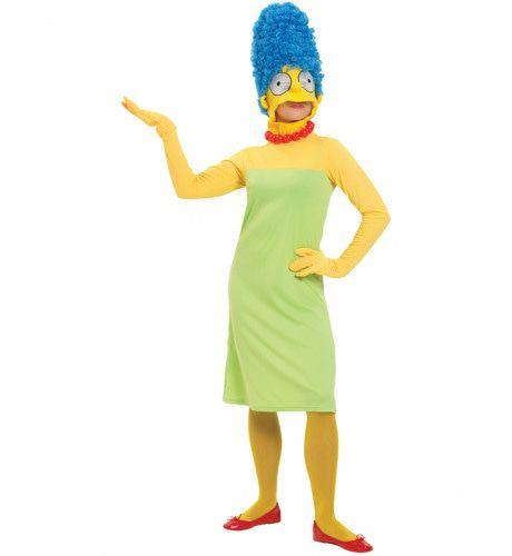 Marge Simpson Vrouw Kostuum