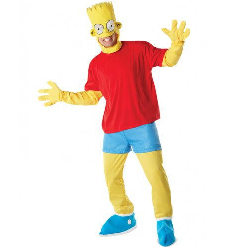Bart Simpson Man Kostuum