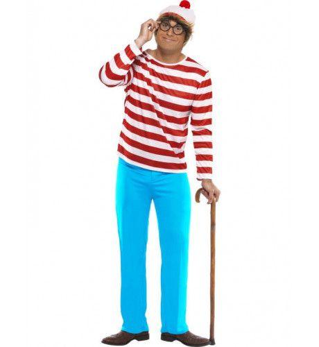 Waar Is Wally Man Kostuum