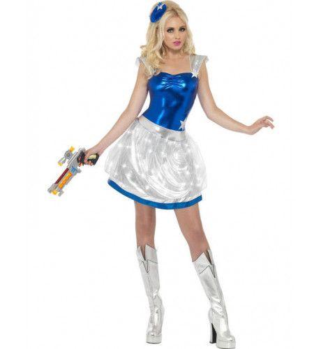 Space Girl Vrouw Kostuum