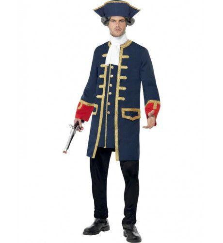 Piraat Kapitein Man Kostuum