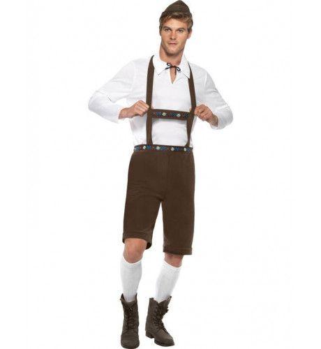 Beierse Man Kostuum