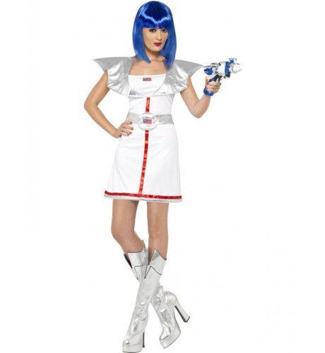Spacegirl Vrouw Kostuum