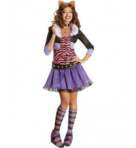 Monster High Clawdeen Wolf Vrouw Kostuum