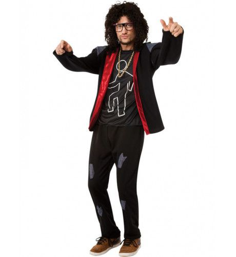 Lmfao Skyblu Party Rock Man Kostuum