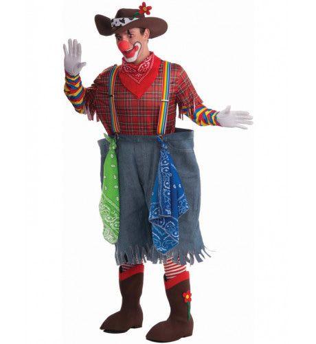Rodeo Clown Man Kostuum