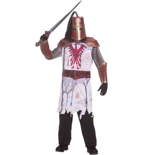 Halloween Ridder Man Kostuum