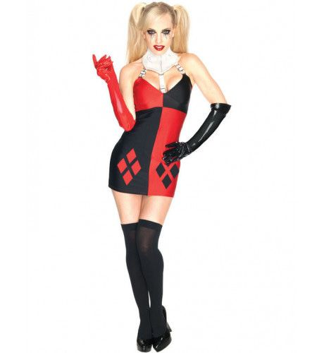 Batman Harley Quinn Vrouw Kostuum