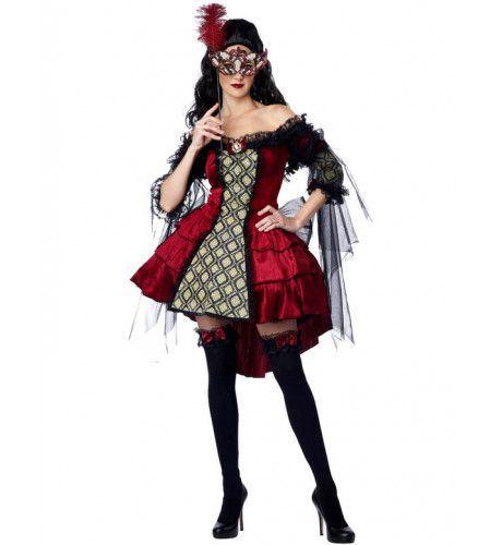 Masquerade Vrouw Kostuum