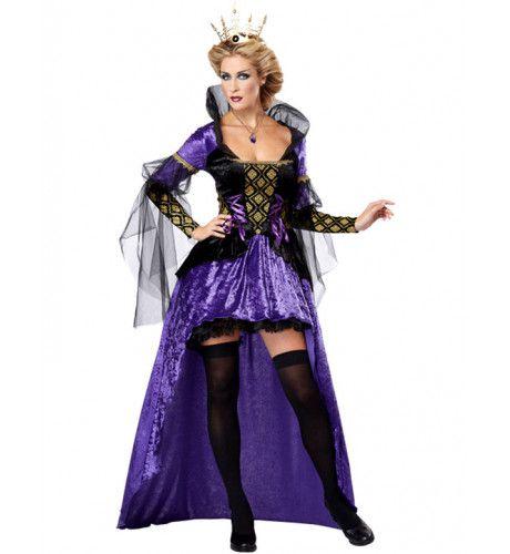 Akelige Koningin Vrouw Kostuum